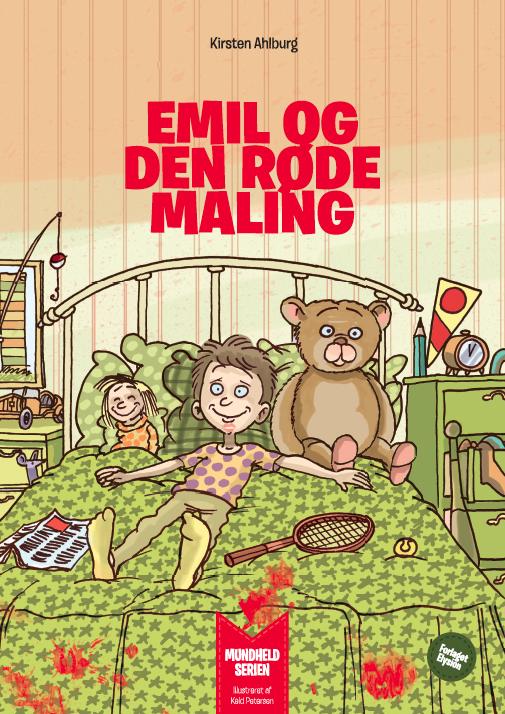 Emil og den røde maling forside