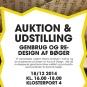 Auktion & Udstilling – Genbrug og redesign af bøger