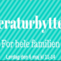 Litteraturbyttedag for hele familien