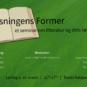 Læsningens Former – et seminar om litteratur og dets læsere
