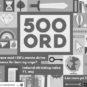 Kåring: 500 ord nominerede og vindere